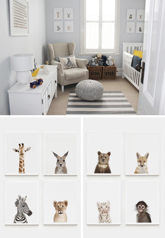 Boy Nursery Fred S Soulful Suite The Animal Print