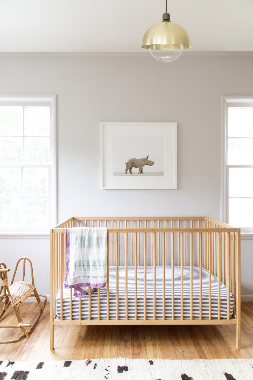 Introducing Baby Rhino In A Soothing California Nursery